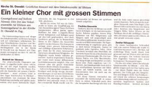 Neue Zuger Zeitung, Di. 20. Juni 2000
